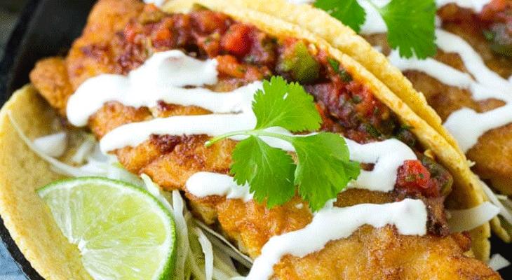 12. Baja Fish Tacos