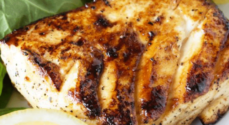 9. Grilled Halibut